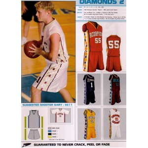 Elite Sublimated Basketball Uniforms