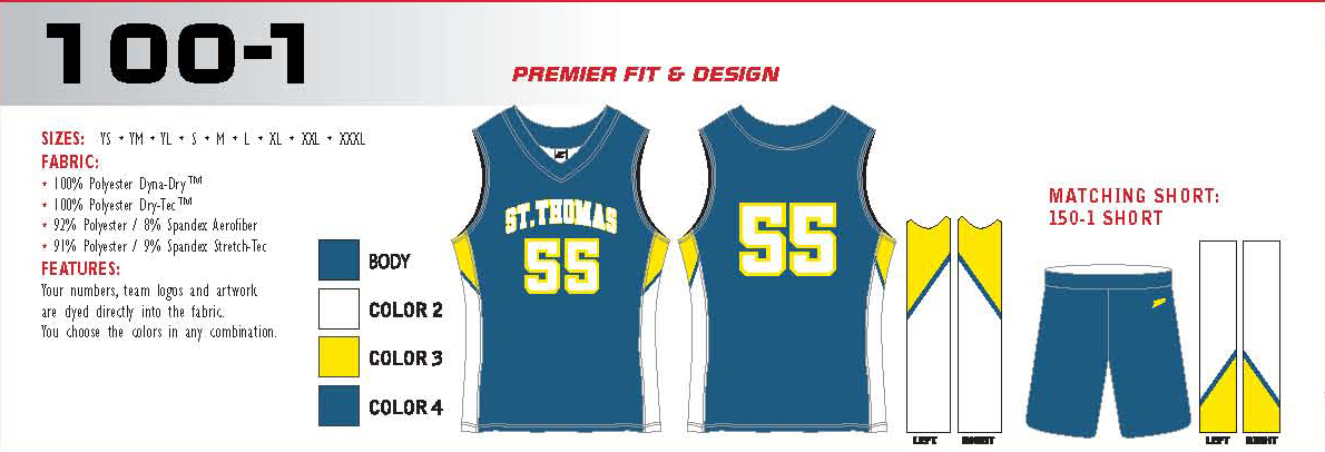4fca29f0514 Elite Sublimated Basketball Jerseys