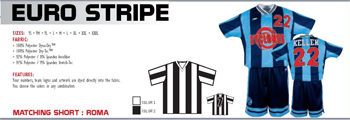 Elite Soccer Euro Stripe