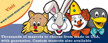 mascot costumes, mascot uniforms