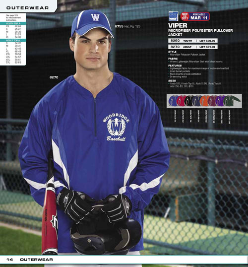 baseball batting jackets - Team Sportswear