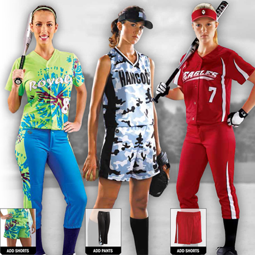 Girls Softball Uniforms - How to Order   Save a lot of Money ... ec2547ca5